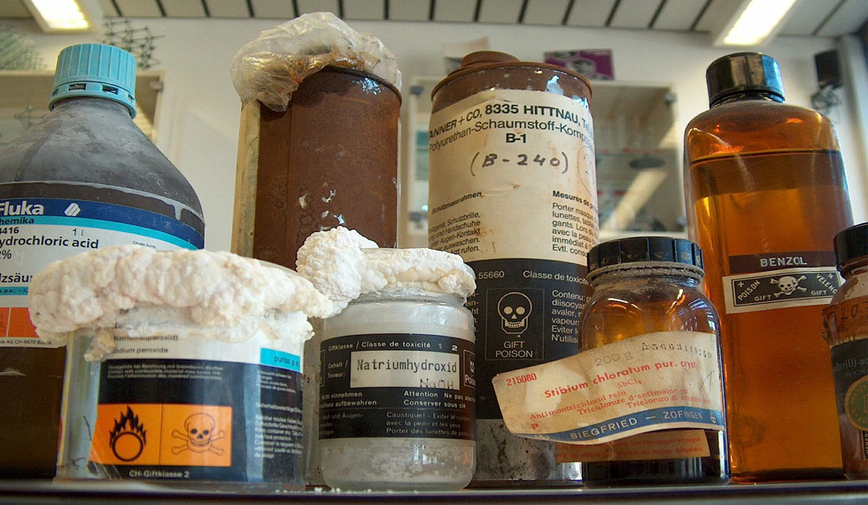 manejo de residuos peligrosos