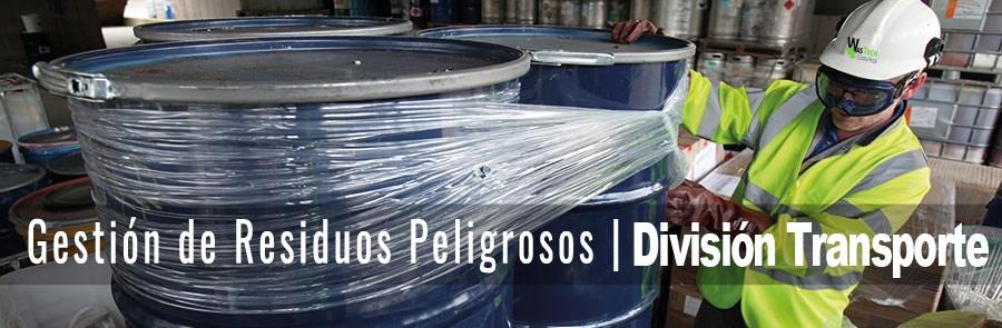 Transporte Residuos Peligrosos Wastech