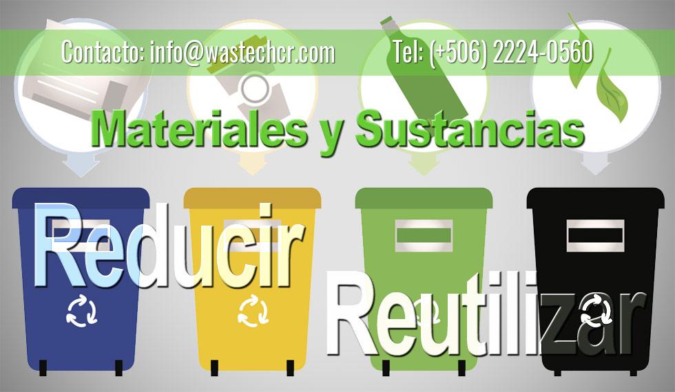 Reduccion Materiales Desecho