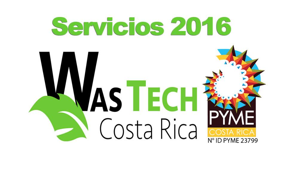 Servicios 2016 WASTECH