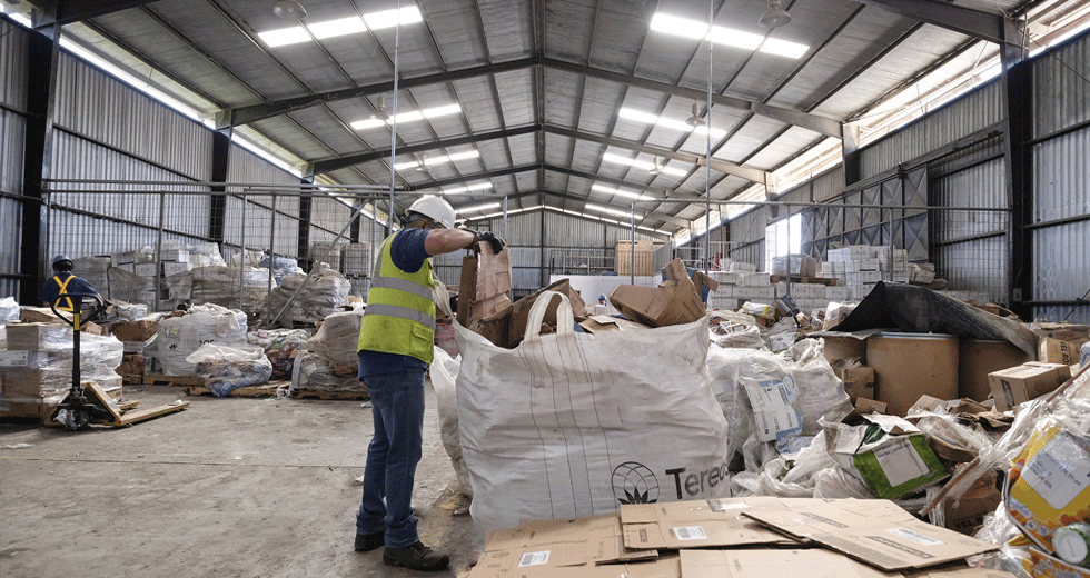 Centro Recoleccion Residuos